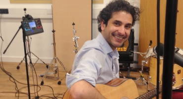 Younes Elamine recording a new album in London