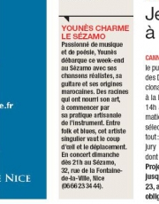 Direct Matin Nice Younes Elamine